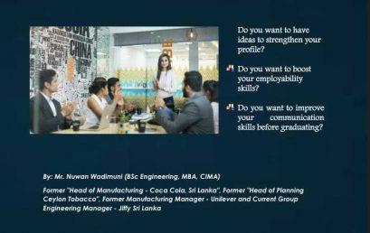 Workshop on Professional Wealth Management and Social Skills