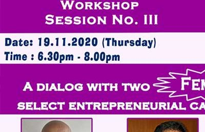 Entrepreneurship Skills Development Workshop Session III
